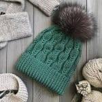 Örgü Atkı Şapka Modelleri 57