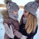 Örgü Atkı Şapka Modelleri 7