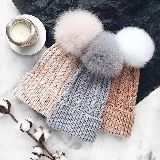 Örgü Atkı Şapka Modelleri 84