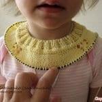 Yakadan Başlama Örgü Çocuk Elbisesi 27