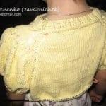 Yakadan Başlama Örgü Çocuk Elbisesi 65