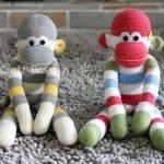 Çoraptan Maymun Yapılışı