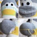Çoraptan Maymun Yapılışı 22