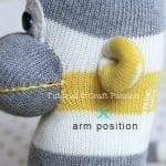 Çoraptan Maymun Yapılışı 24