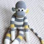 Çoraptan Maymun Yapılışı 25