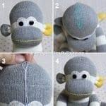 Çoraptan Maymun Yapılışı 26