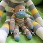 Çoraptan Maymun Yapılışı 27