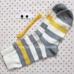 Çoraptan Maymun Yapılışı 2