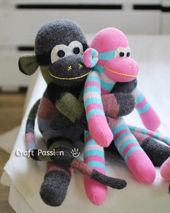 Amigurumi kırmızı maymun – 10marifet.org | 735x588