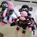 Çoraptan Maymun Yapılışı 31