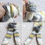 Çoraptan Maymun Yapılışı 7