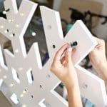 Dev Kar Tanesi Led Lamba Yapımı --resim gelecek 1
