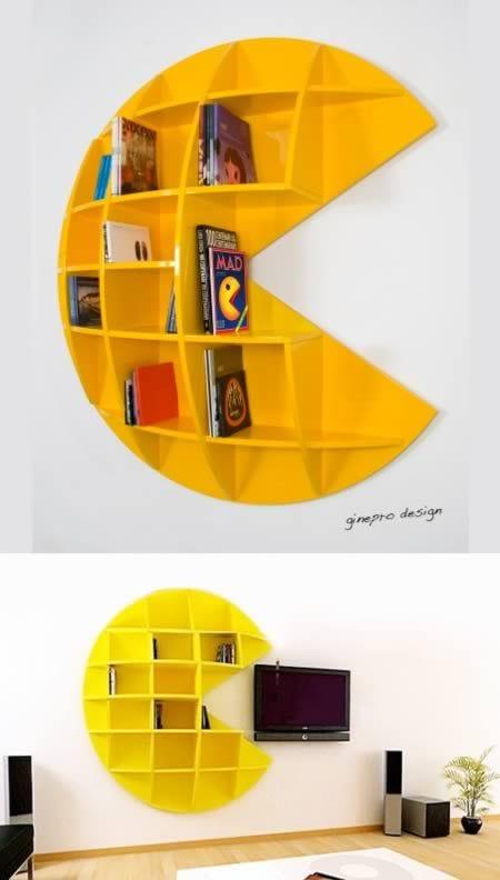 Duvar Raf ve Kitaplık Modelleri 109