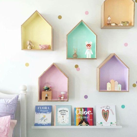 Duvar Raf ve Kitaplık Modelleri 117