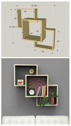 Duvar Raf ve Kitaplık Modelleri 29