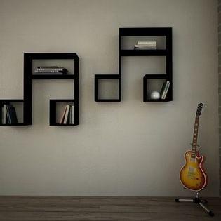 Duvar Raf ve Kitaplık Modelleri 3