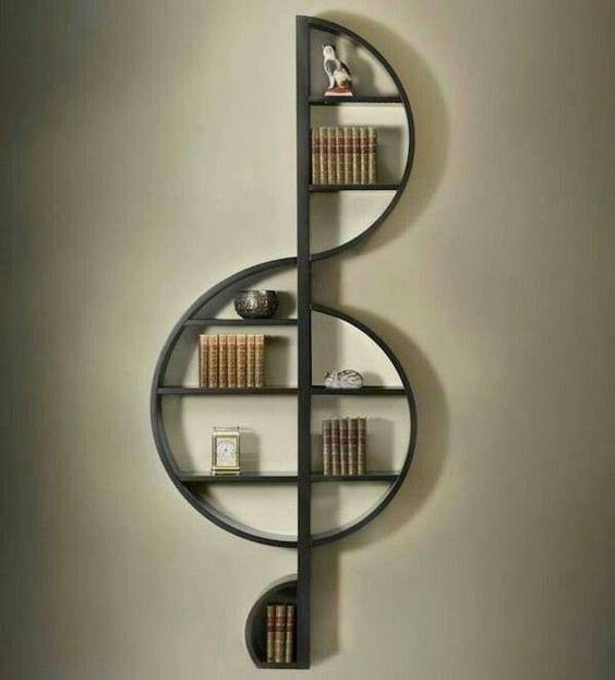 Duvar Raf ve Kitaplık Modelleri 61