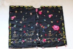 Etekten Kimono Dikimi 13