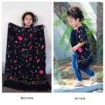 Etekten Kimono Dikimi