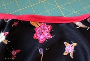 Etekten Kimono Dikimi 7
