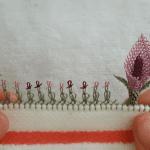 Mini Gala Çiçeği Yapımı İğne Oyası