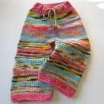 Örgü Çocuk Pantolon Modelleri 12