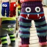 Örgü Çocuk Pantolon Modelleri 22