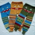 Örgü Çocuk Pantolon Modelleri 30