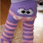 Örgü Çocuk Pantolon Modelleri 39