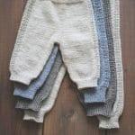 Örgü Çocuk Pantolon Modelleri 49
