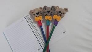 Amigurumi Kalem Başlığı Yapımı 1