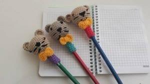 Amigurumi Kalem Başlığı Yapımı