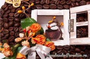 Kahve Çekirdeği Dekorasyon 18