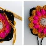 Fridanın Çiçekleri Örgü Çanta Yapılışı 14
