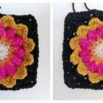 Fridanın Çiçekleri Örgü Çanta Yapılışı 15