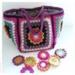 Fridanın Çiçekleri Örgü Çanta Yapılışı 18