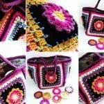 Fridanın Çiçekleri Örgü Çanta Yapılışı 22