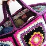 Fridanın Çiçekleri Örgü Çanta Yapılışı 23