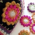 Fridanın Çiçekleri Örgü Çanta Yapılışı 25