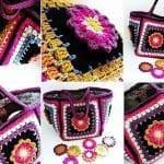 Fridanın Çiçekleri Örgü Çanta Yapılışı 2