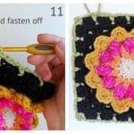 Fridanın Çiçekleri Örgü Çanta Yapılışı 56