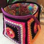 Fridanın Çiçekleri Örgü Çanta Yapılışı 6