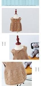 Örgü Bebek Elbisesi 4