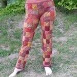 Şiş Örgü Pantolon Modelleri 12
