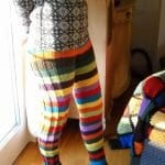 Şiş Örgü Pantolon Modelleri 26