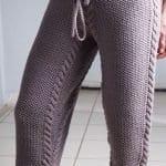 Şiş Örgü Pantolon Modelleri 3