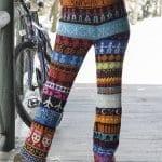 Şiş Örgü Pantolon Modelleri 46