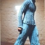 Şiş Örgü Pantolon Modelleri 49