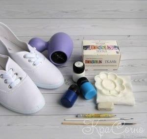 Bez Ayakkabı Boyama 10