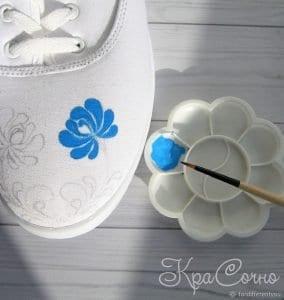 Bez Ayakkabı Boyama 11